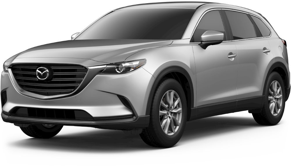 2018 mazda cx-9 in sonic silver metallic