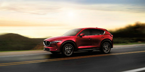 2018 mazda cx-5 driving full view