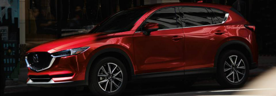 2018 mazda cx-5 full side profile view