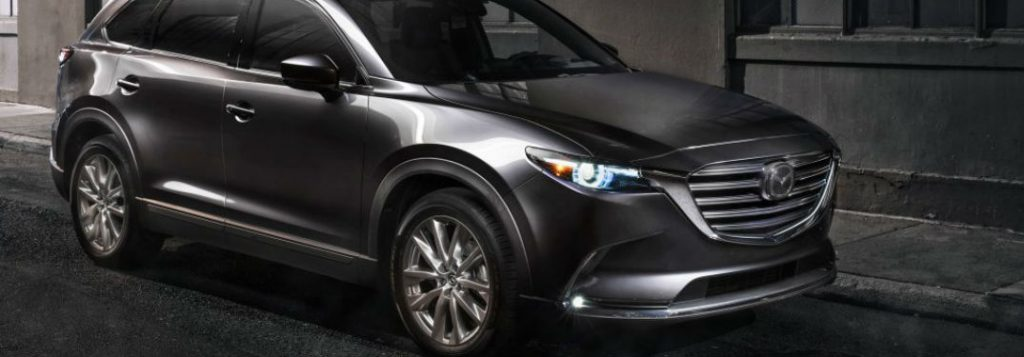 2018 mazda cx-9 full view at night