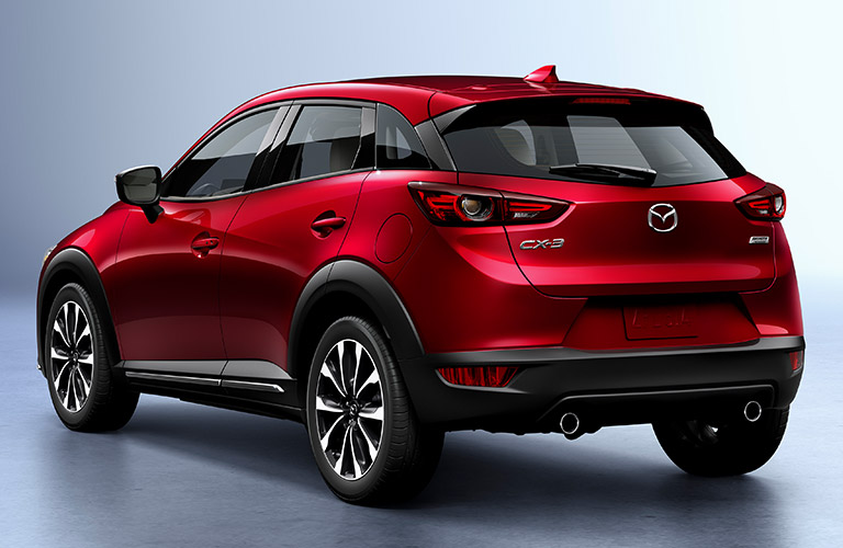2018 mazda cx-3 rear detail