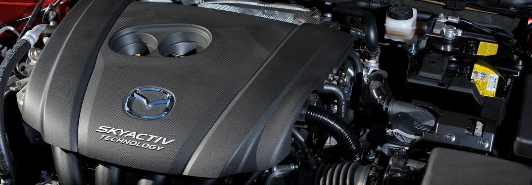 mazda skyactiv-x engine detail