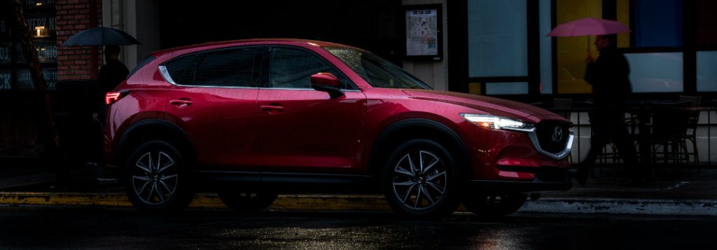 2018 mazda-cx5 driving at night