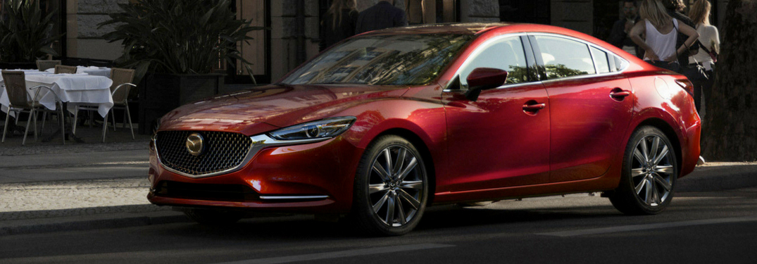 side view of the 2018 mazda6