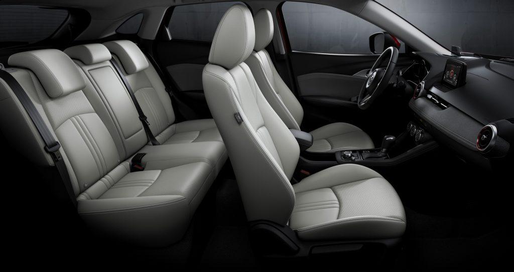 2019 mazda cx-3 interior seating configuration