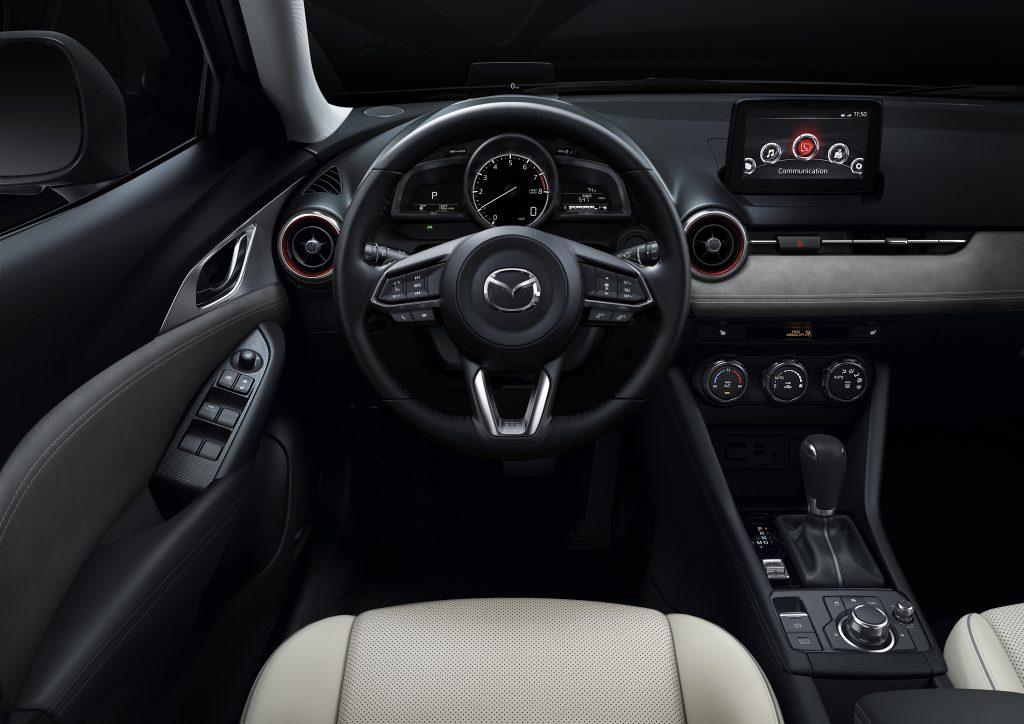2019 mazda cx-3 driver's seat detail