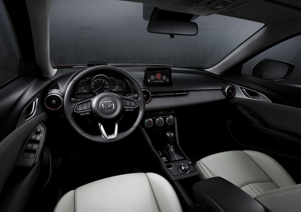2019 mazda cx-3 front row detail
