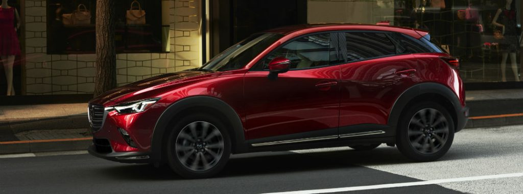 2019 mazda cx-3 full view parked
