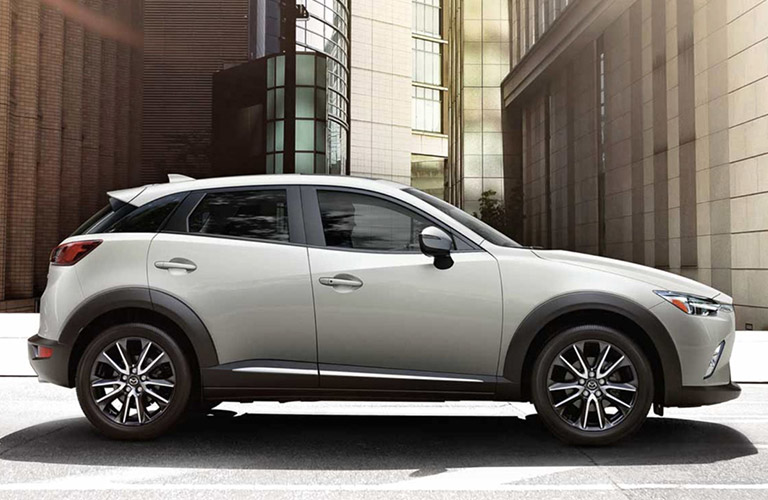 2018 mazda cx-3 parked full view