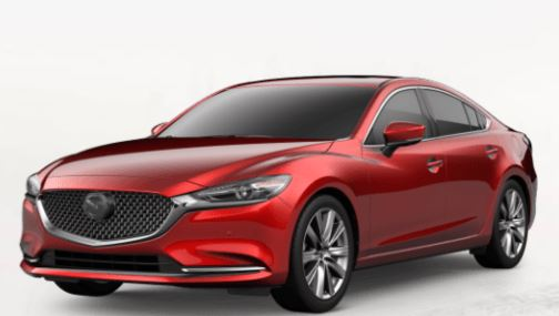 2018 mazda6 soul red crystal metallic