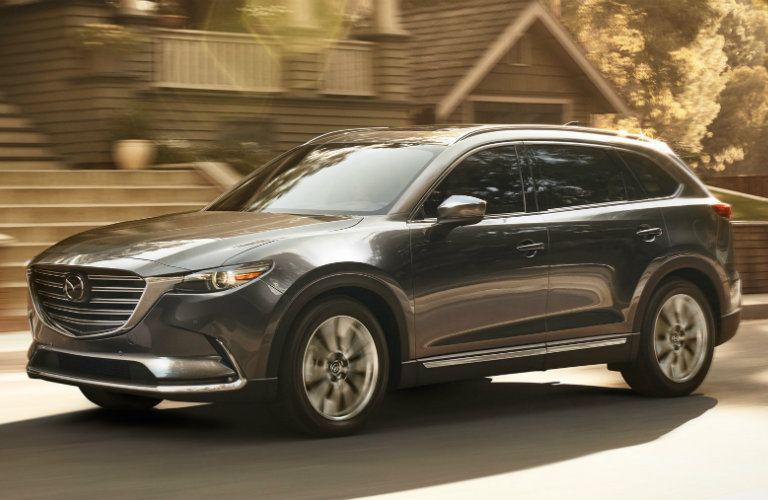 2018 mazda cx-9 full view parked