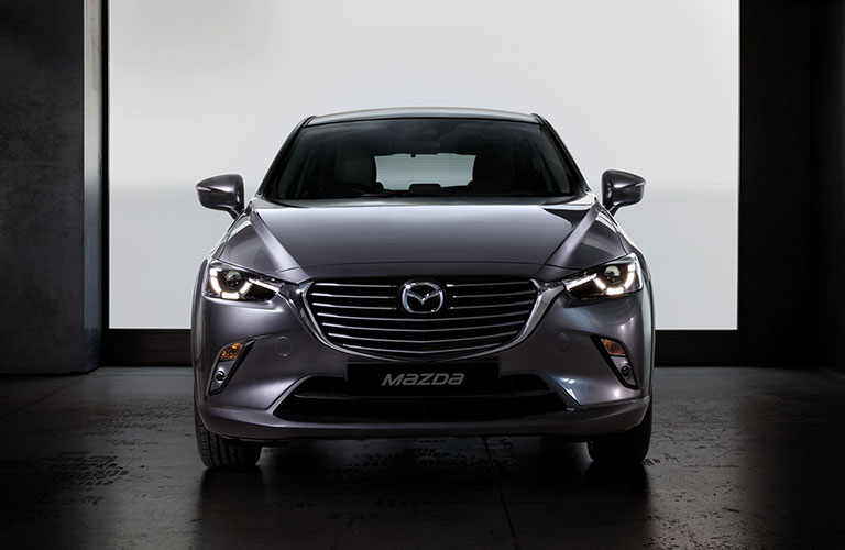 2018 mazda cx-3 front view detail