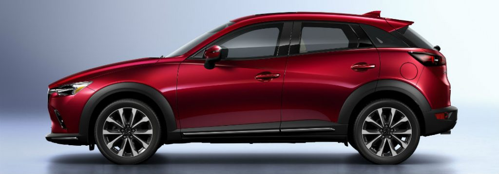 2019 mazda cx-3 side view