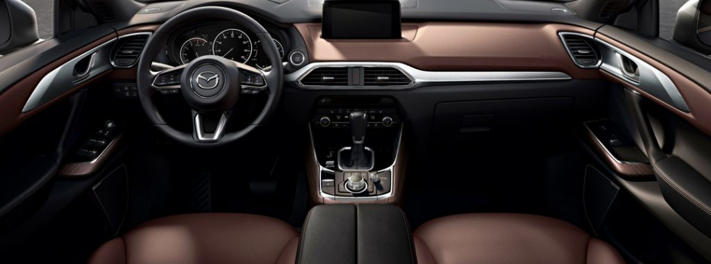 2019 mazda cx-9 interior detail