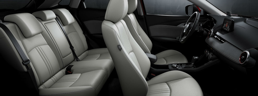 2019 mazda cx-3 interior seating detail