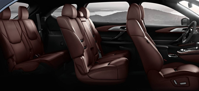 2019 mazda cx-9 three rows of seating