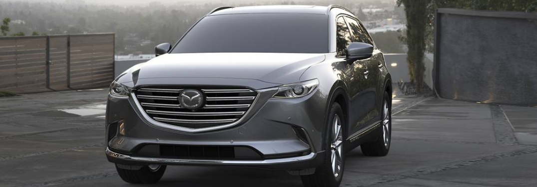 full view of the 2019 mazda cx-9 parked