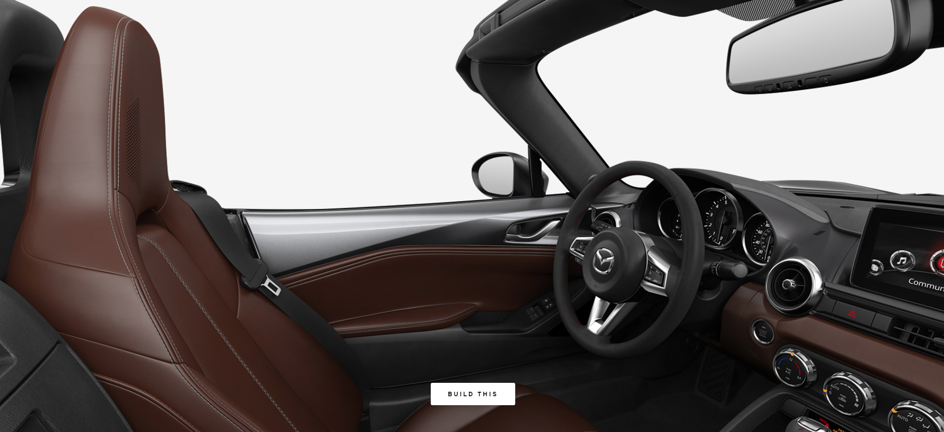 2019 Mazda MX-5 Miata Auburn Nappa Leather
