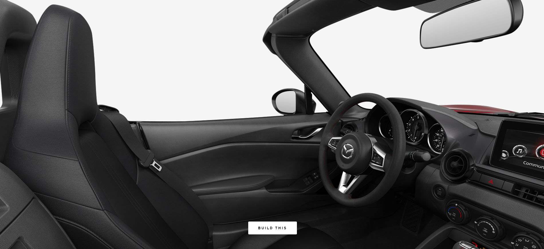 2019 Mazda MX-5 Miata Black Cloth