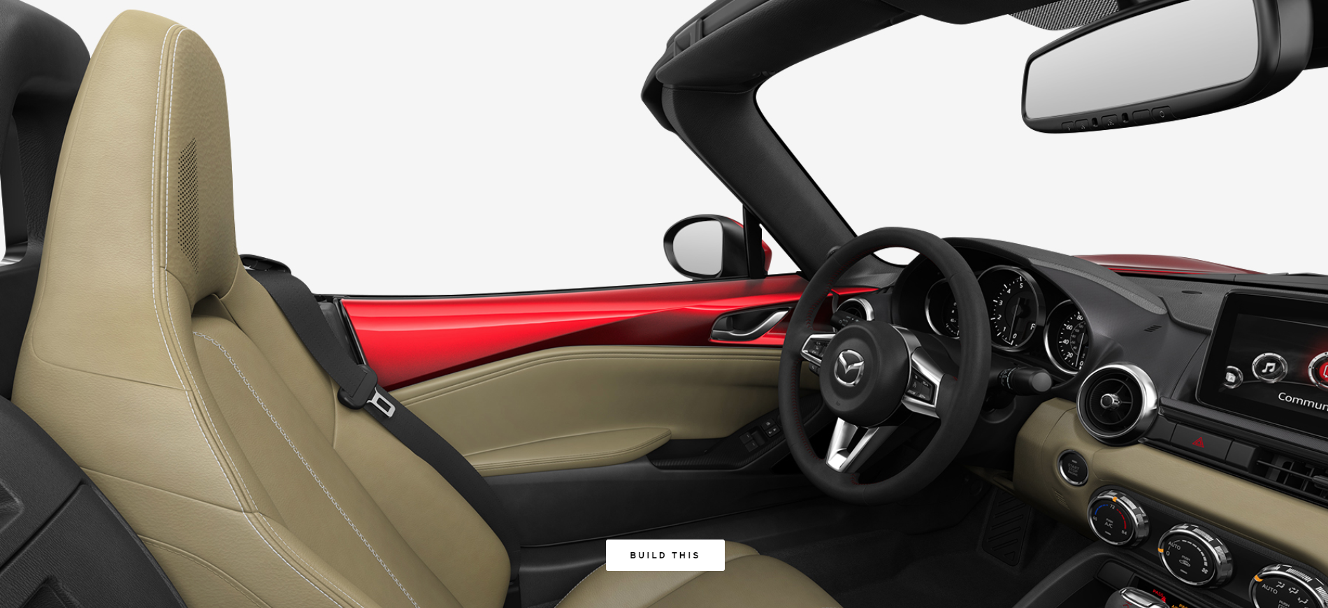 2019 Mazda MX-5 Miata Sport Tan Leather
