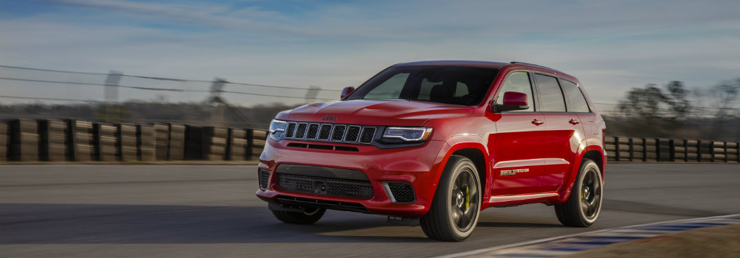 How Fast Is The 2018 Jeep Grand Cherokee Trackhawk