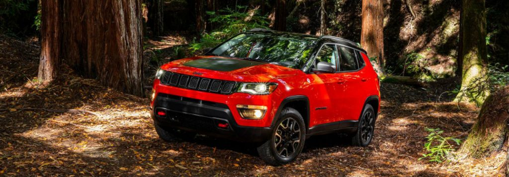 2017 Jeep Compass Trailhawk Color Options