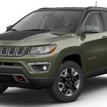 2017 Jeep Compass Trailhawk Olive Green Pearl Black Clear