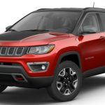 2017 Jeep Compass Trailhawk Redline Pearl Black Clear