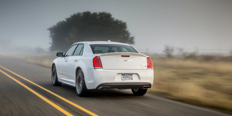 Chrysler Dealership Mn >> 2018-Chrysler-300-rear-white-road_o - Stillwater Fury Motors