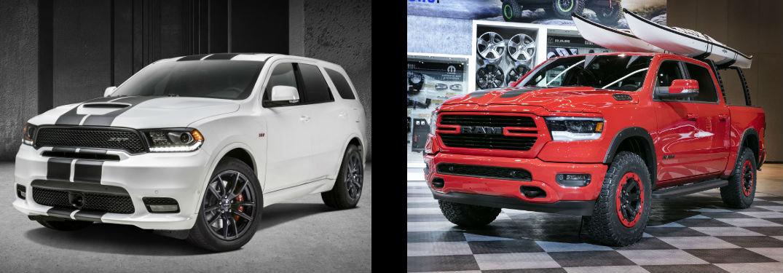 Ram And Dodge Chicago Auto Show Accessories - Durango car show