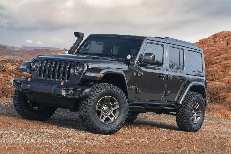 2018 Jeep J Wagon Concept Front O Stillwater Fury Motors