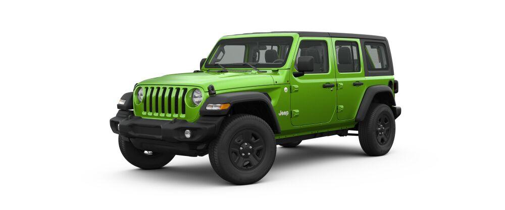 jeep wrangler mojito silver billet options green sport spokane exterior soft hard dave smith