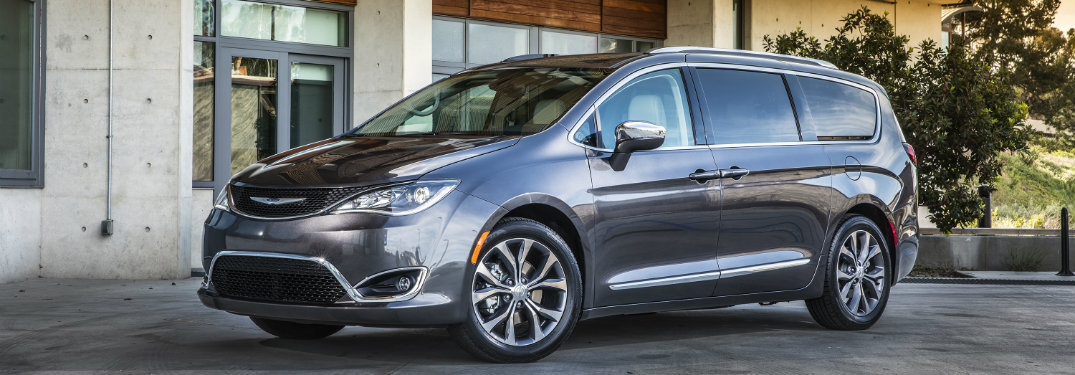 What S New On The 2019 Chrysler Pacifica Enjoy Its Trim Enhancements