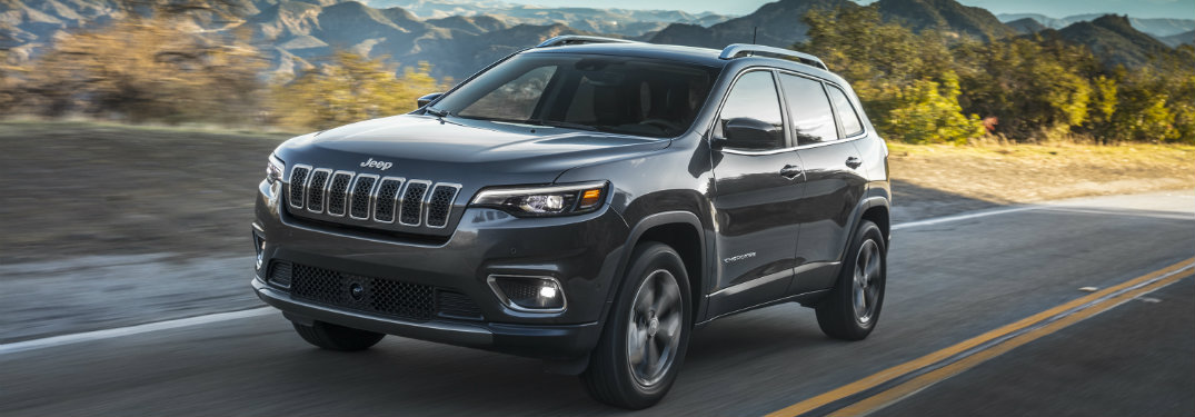 2019 Jeep Cherokee Color Options on Different Trim Levels