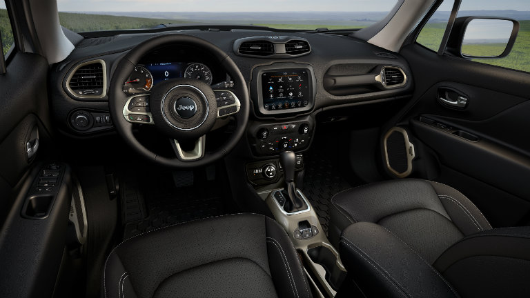 2019 Jeep Renegade Dashboard O Stillwater Fury Motors