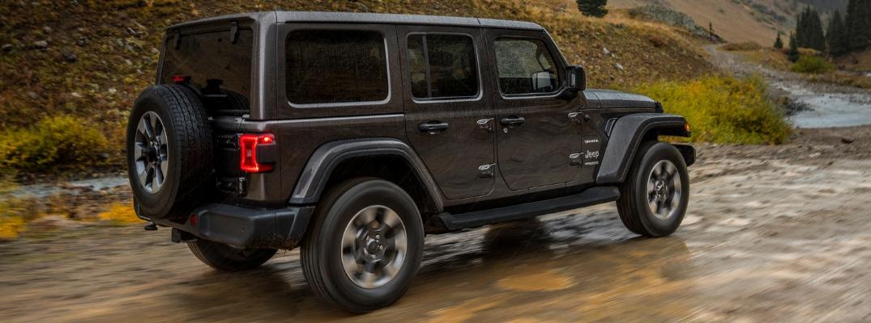 Grey 2019 Jeep Wrangler