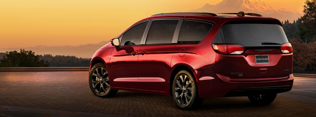 Red 2019 Chrysler Pacifica 35th Anniversary Edition