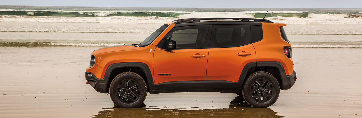 2019 Jeep Renegade by shoreline