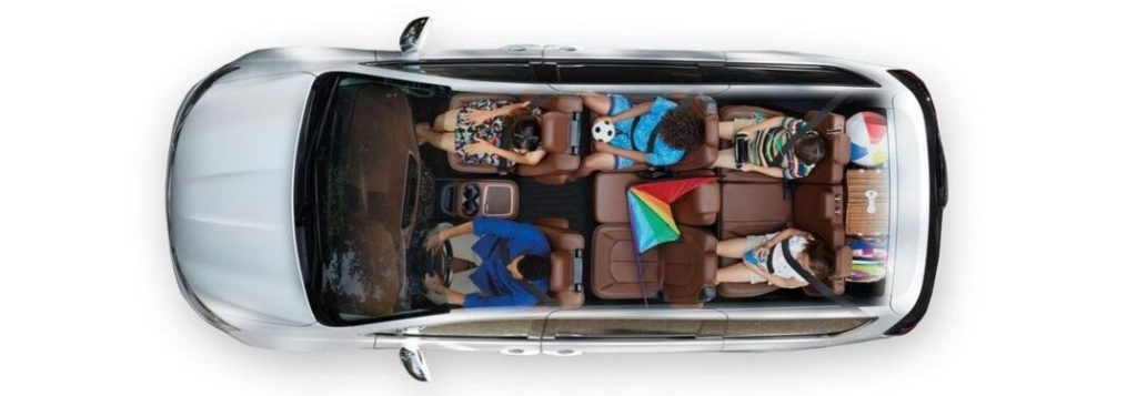 2020 Chrysler Pacifica Passenger And Cargo Space Dimensions