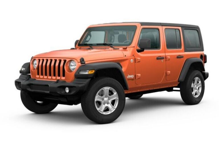 2020 Jeep Wrangler Jl Colors