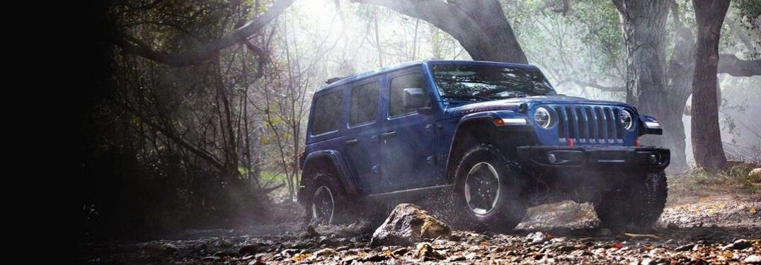 What Exterior Colors Are Available on the 2020 Jeep Wrangler Lineup?