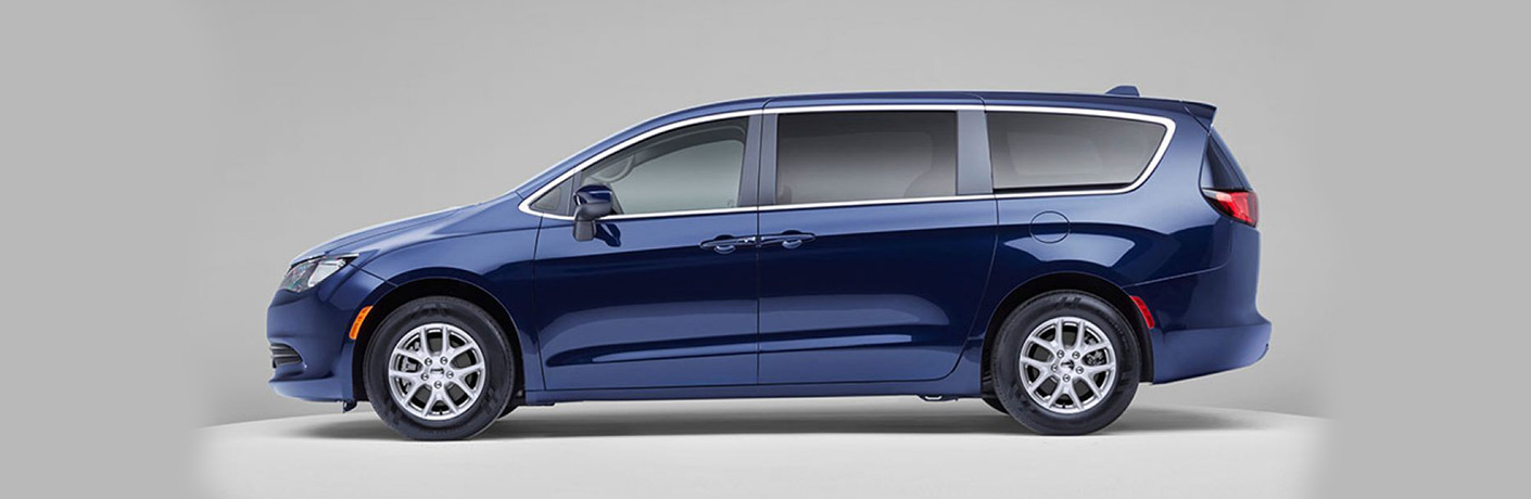 2020 Chrysler Voyager on showroom platform
