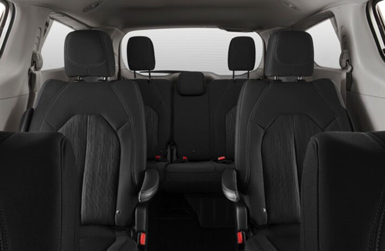 2020 Chrysler Voyager rear cabin space