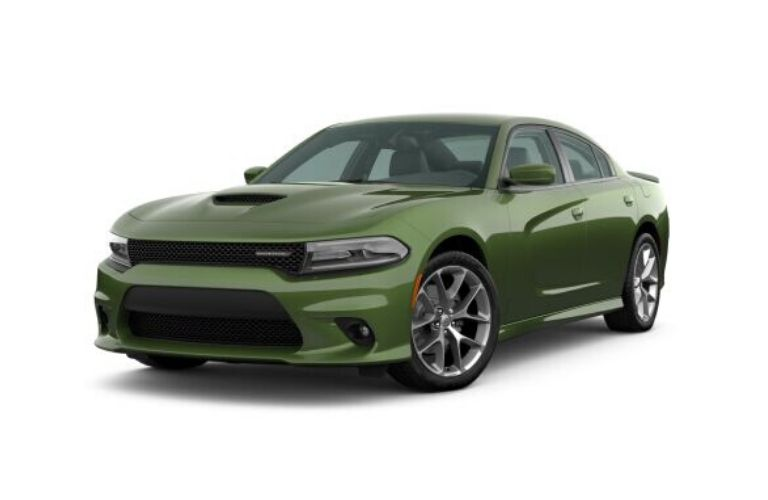 2020 Dodge Charger in F8 Green