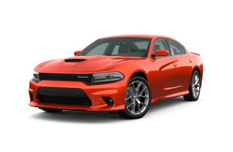 2020 Dodge Charger in Go Mango