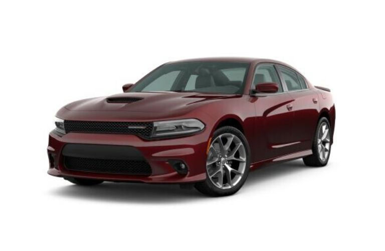 2020 Dodge Charger in Octane Red