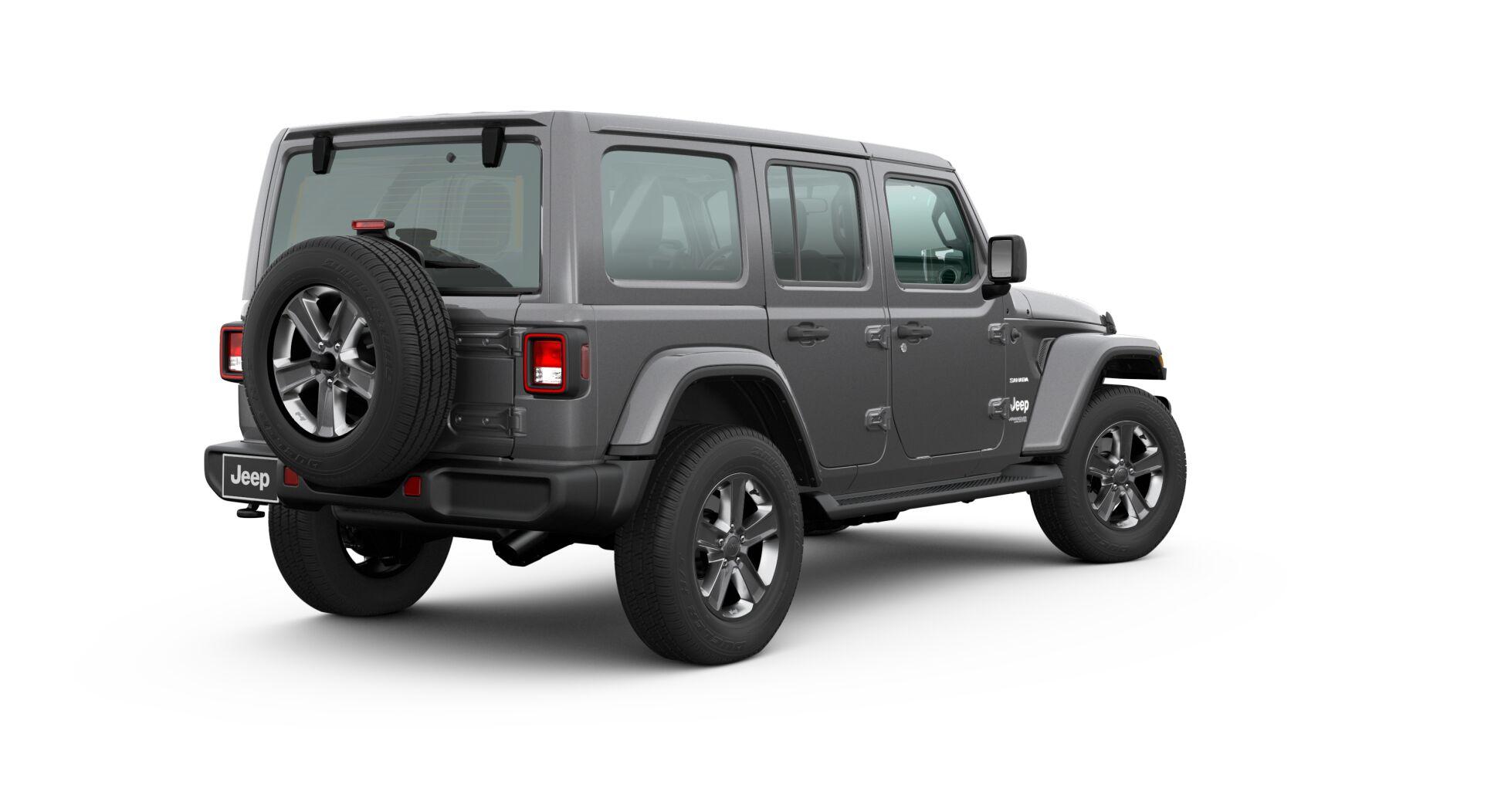 2020 Jeep Wrangler hard top up