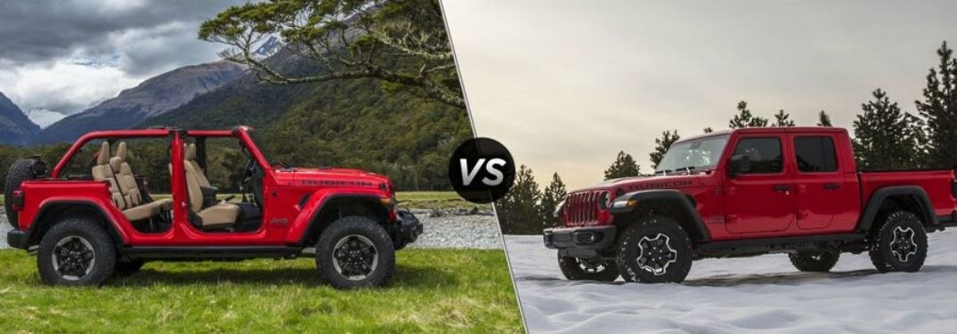 Differences Between the Gladiator Rubicon and Wrangler Rubicon