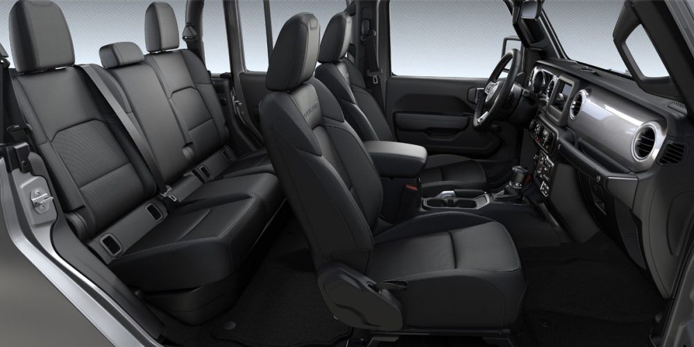 2020 Jeep Gladiator Overland Black Cloth
