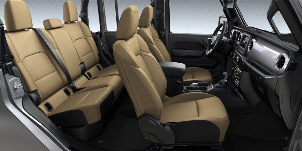 2020 Jeep Gladiator Overland Heritage Tan/Black Cloth